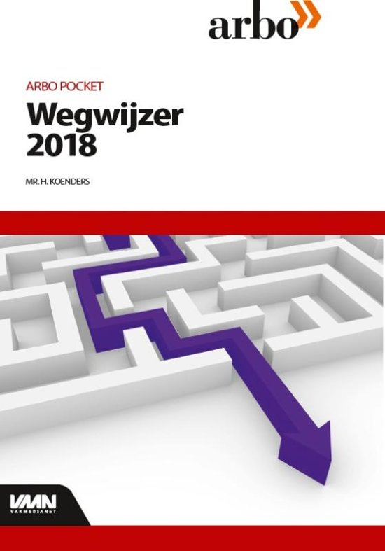 Arbopocket, Wegwijzer 2018, door Mr H. Koenders